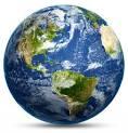 Photo of world globe