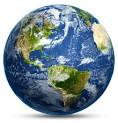 Photo of world globe